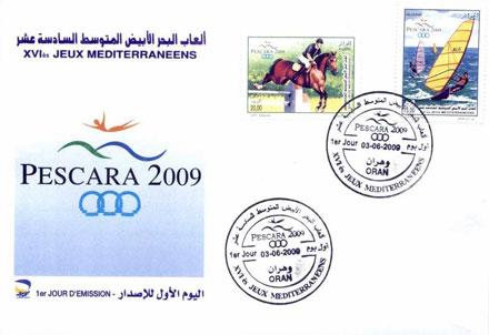 Horses / Pferde (Marken auf Brief oder Karte) - Seite 2 Algir026-fdc